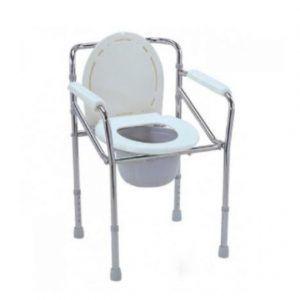 Steel @ Aluminium Commode Chair